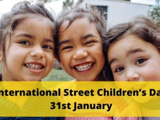 International Street Children's Day