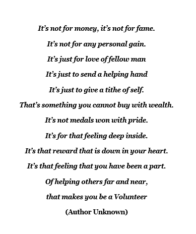 International Volunteer Day Poem