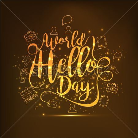 World Hello Day Picture