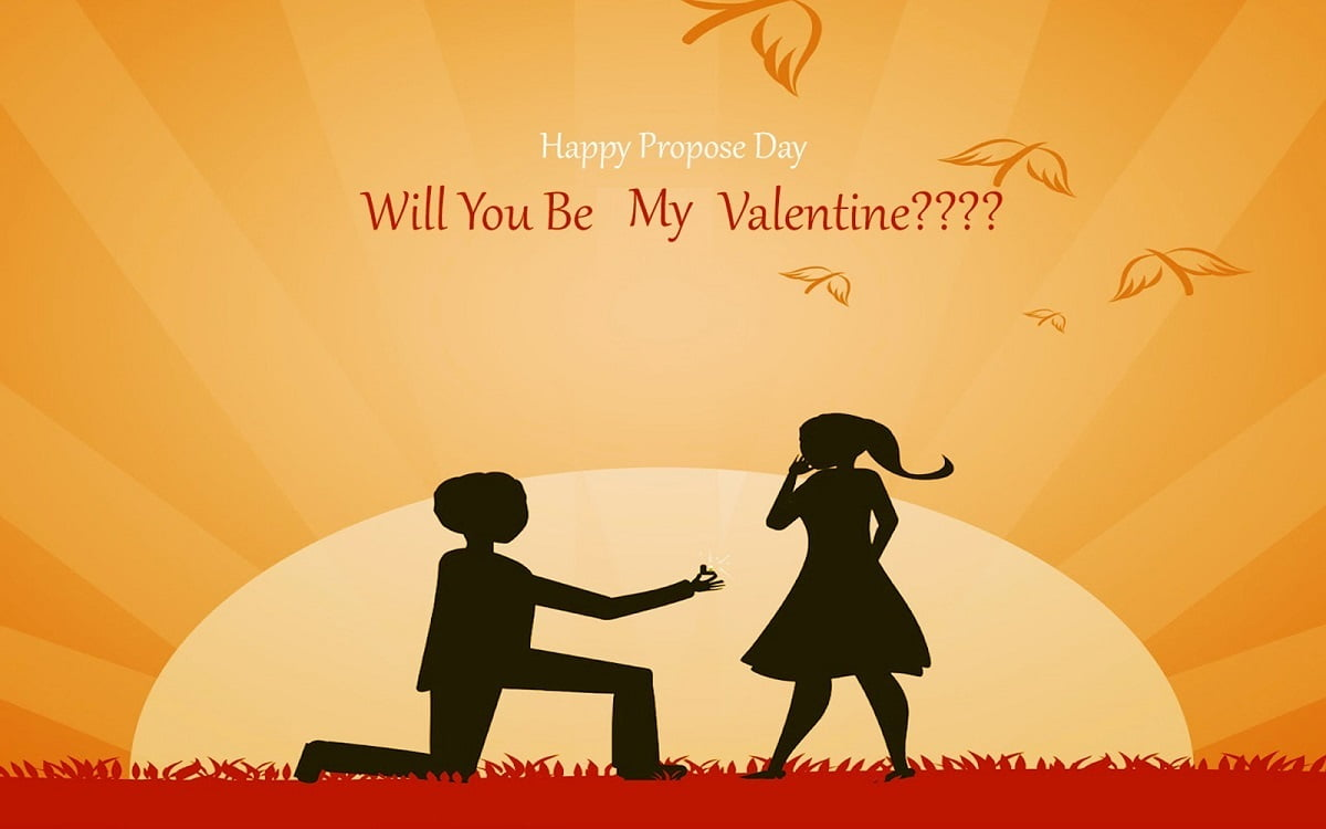 Propose Day Wish Card