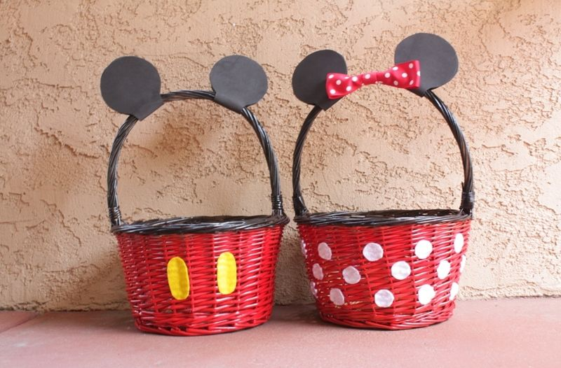 Mickey Minnie Easter Basket