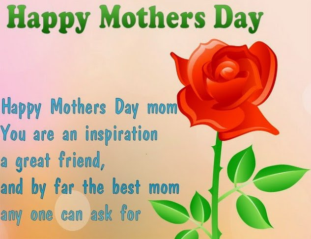 Mothers Day Image with Saying
