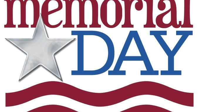 Memorial Day Weekend Information