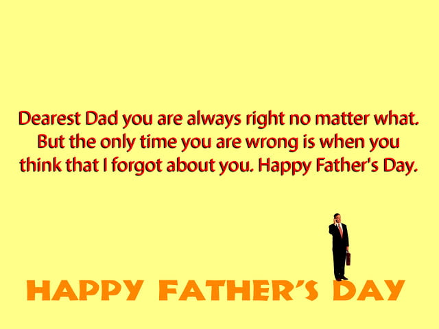 Fathers Day Image with Wishes