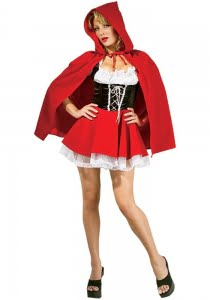 Halloween Costume Red Riding Hood