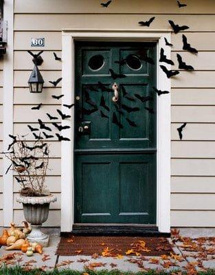 Halloween Door Decoration Country