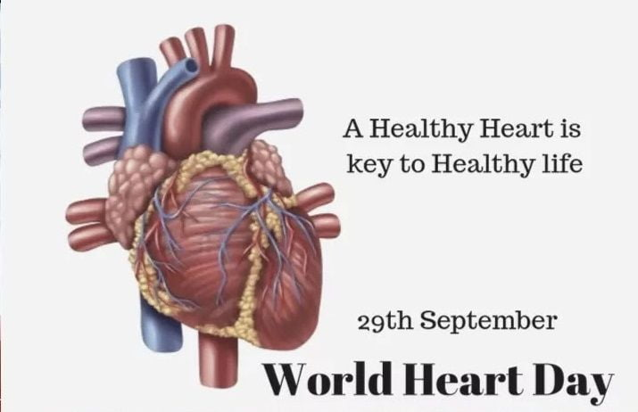 World Heart Day Photo Wishes