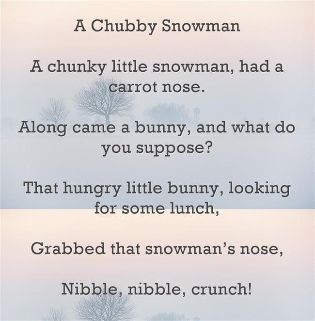 A Chubby Snowman