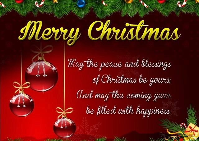 Merry Christmas 2020 Greetings